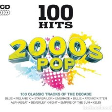 CDs de Música: VARIOUS - 100 HITS 2000S POP - 5XCD. Lote 143751526