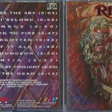 CDs de Música: RITUAL CD TRIALS..ORIG.1993 MASSACRE RECORDS/HYPER RARE - SADUS-VOIVOD-SEPULTURA-METALLICA. Lote 143813986