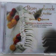 CDs de Música: MIGUEL ÁNGEL ORTEGA: PASIÓN Y DUENDE DEL CABALLO ANDALUZ.. Lote 143815494