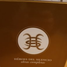 CDs de Música: CAJA HÉROES DEL SILENCIO, OBRAS COMPLETAS. BUNBURY.. Lote 143817518