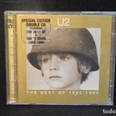 CDs de Música: U2 - THE BEST OF 1980 -1990 - 2 CD. Lote 143818070