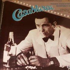 CDs de Música: CASABLANCA / CLASSIC FILM SCORES FOR HUMPHREY BOGART / 12 TEMAS / CALIDAD LUJO.. Lote 143834890