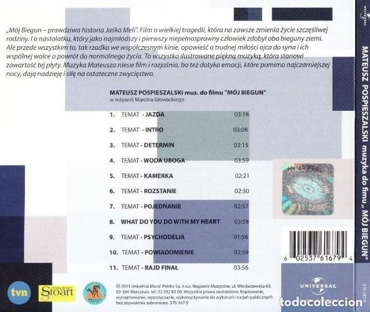 CDs de Música: MÓJ BIEGUN (MY OWN POLE) / Mateusz Pospieszalski CD BSO - Foto 2 - 143843306