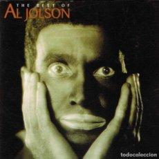 CDs de Música: AL JOLSON - THE BEST OF. CD. UNIVERSAL MUSIC. Lote 143854910