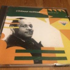 CDs de Música: COLEMAN HAWKINS - BODY AND SOUL - CD. Lote 143876006