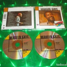 CDs de Música: THE BEST OF MARVIN GAYE - 2 CD - 530 529-2 - MOTOWN - INNER CITY BLUES - CHAINED - I WANT YOU .... Lote 143876386