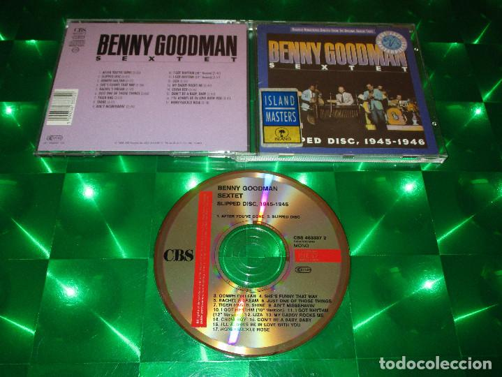 BENNY GOODMAN SEXTET (SLIPPED DISC 1945-1946) - CD - CBS 463337 2 / (01-463337-10) (Música - CD's Jazz, Blues, Soul y Gospel)