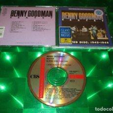 CDs de Música: BENNY GOODMAN SEXTET (SLIPPED DISC 1945-1946) - CD - CBS 463337 2 / (01-463337-10). Lote 143906330