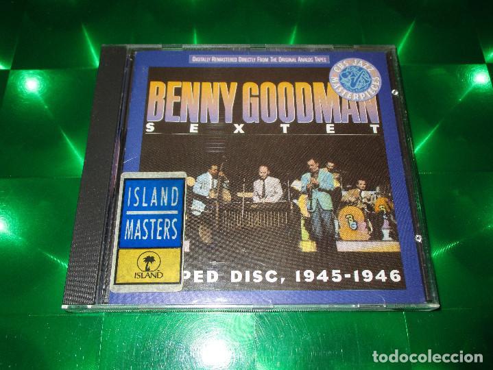 CDs de Música: BENNY GOODMAN SEXTET (SLIPPED DISC 1945-1946) - CD - CBS 463337 2 / (01-463337-10) - Foto 2 - 143906330