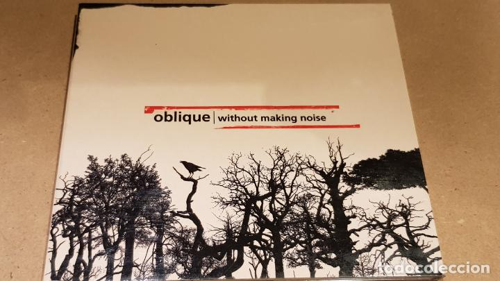 OBLIQUE / WITHOUT MAKING NOISE / DIGIPACK-CD / GREENLAND / 12 TEMAS / LUJO. (Música - CD's Techno)
