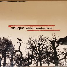 CDs de Música: OBLIQUE / WITHOUT MAKING NOISE / DIGIPACK-CD / GREENLAND / 12 TEMAS / LUJO.. Lote 143910366