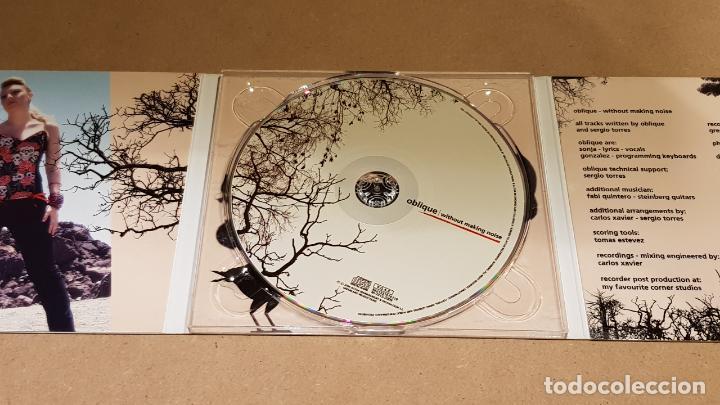 CDs de Música: OBLIQUE / WITHOUT MAKING NOISE / DIGIPACK-CD / GREENLAND / 12 TEMAS / LUJO. - Foto 3 - 143910366