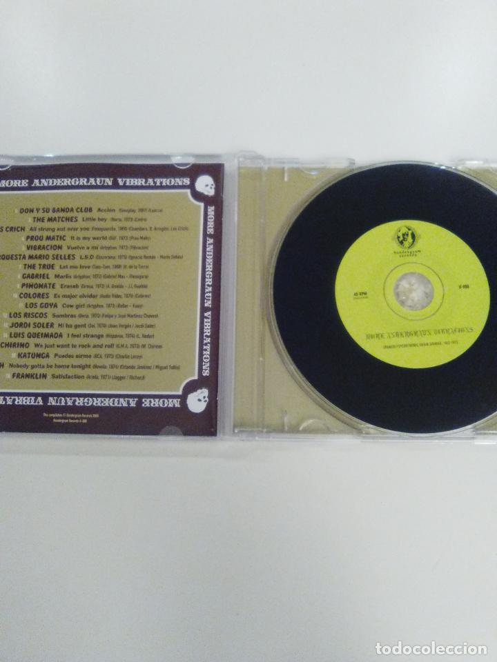 CDs de Música: MORE UNDERGRAUN VIBRATIONS 2009 PIÑONATE LOS CRICH COLORES GOYA RISCOS LUIS QUEIMADA FRANKLIN NORAH - Foto 3 - 143936198