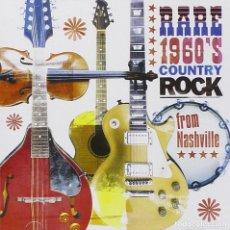 CDs de Música: VA - RARE 1960'S COUNTRY ROCK FROM NASHVILLE. Lote 143968690