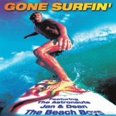 CDs de Música: VA - GONE SURFIN'. Lote 143978086