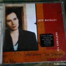 CDs de Musique: JEFF BUCKLEY– SKETCHES FOR MY SWEETHEART THE DRUNK 2XCD DOBLE 1998 ALTERNATIVE ROCK. Lote 143988698