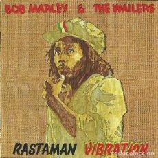 CDs de Música: BOB MARLEY & THE WAILERS - RASTAMAN VIBRATION EDICION REMASTERIZADA 2001 EXCELENTES CONDICIONES. Lote 144004594