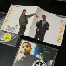 CDs de Música: LOTE 2CDS JAZZY JEFF & FRESH PRINCE:HE'S THE DJ I'M THE RAPPER 88/CODE RED 93.EL PRINCIPE DE BEL AIR. Lote 144013294