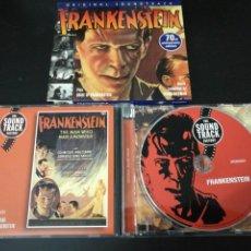 CDs de Música: FRANKENSTEIN 70TH ANNIVERSARY EDITION ORIGINAL SOUNDTRACK BY FRANZ WAXMAN .DISCONFORME 2000.INTACTO.. Lote 144015608