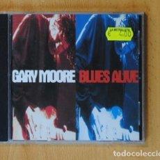CDs de Música: GARY MOORE - BLUES ALIVE - CD. Lote 144021016
