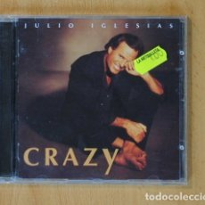 CDs de Música: JULIO IGLESIAS - CRAZY - CD. Lote 144023692