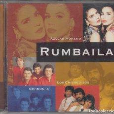CDs de Música: RUMBAILA CD AZÚCAR MORENO LOS CHUNGUITOS BORDÓN-4 PERET CASTA 1999. Lote 144033082