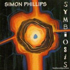 CDs de Música: SIMON PHILLIPS - SYMBIOSIS - CD ALBUM - 9 TRACKS - ALEX MERCK MUSIC 1995. Lote 144033410