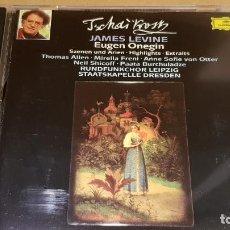 CDs de Música: TSCHAIKOWSKY / EUGEN ONEGIN / SZENEN UND ARIEN / JAMES LEVINE / CD DE LUJO.. Lote 144065866