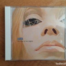 CDs de Música: LUNA: THE DAYS OF OUR NIGHTS. Lote 144067950