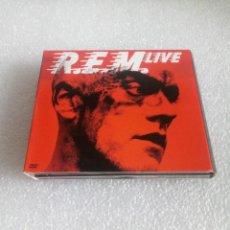 CDs de Música: REM - R.E.M. - LIVE - 2 CDS + DVD. Lote 144077422