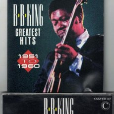 CDs de Música: CD - B.B. KING - GREATEST HITS (CD, THE CONNOISSEUR COLLECTION 1994). Lote 144090222