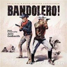 CDs de Música: BANDOLERO - BANDOLERO! MÚSICA COMPUESTA POR JERRY GOLDSMITH. Lote 144118446