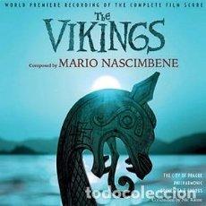 CDs de Música: LOS VIKINGOS - THE VIKINGS MÚSICA COMPUESTA POR MARIO NASCIMBENE. Lote 144120146