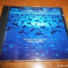 CDs de Música: LE GRAND BLEU VOLUME 2 BANDA SONORA CD ALBUM 1988 HOLANDA MUSICA ERIC SERRA 14 TEMAS. Lote 144130874