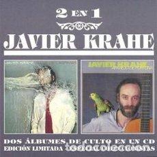 CDs de Música: JAVIER KRAHE - VALLE DE LÁGRIMAS / APAREJO DE FORTUNA. Lote 144133190