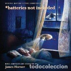 CDs de Música: NUESTROS MARAVILLOSOS ALIADOS - BATTERIES NOT INCLUDED (2 CDS) MÚSICA COMPUESTA PR JAMES HORNER. Lote 144134018
