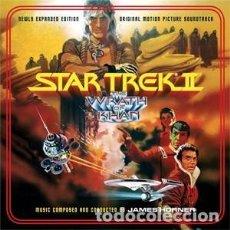 CDs de Música: STAR TREK II: LA IRA DE KHAN - STAR TREK II: THE WRATH OF KHAN MÚSICA: JAMES HORNER. Lote 144134690