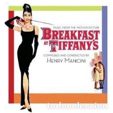 CDs de Música: DESAYUNO CON DIAMANTES - BREAKFAST AT TIFFANY'S MÚSICA COMPUESTA Y DIRIGIDA POR HENRY MANCINI . Lote 144136922