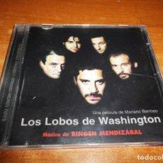 CDs de Música: LOS LOBOS DE WASHINGTON BANDA SONORA CD ALBUM 1999 MUSICA BINGEN MENDIZABAL 16 TEMAS ANGEL CELADA. Lote 144137194