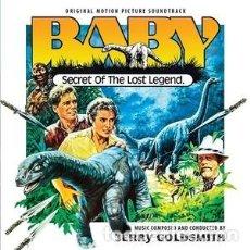 CDs de Música: BABY: EL SECRETO DE UNA LEYENDA PERDIDA - BABY: SECRET OF THE LOST LEGEND MÚSICA: JERRY GOLDSMITH. Lote 144140158