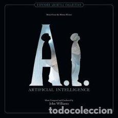 CDs de Música: A.I. INTELIGENCIA ARTIFICIAL - A.I. ARTIFICIAL INTELLIGENCE (3 CDS) MÚSICA: JOHN WILLIAMS. Lote 144141762