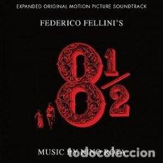 CDs de Música: 8 Y 1/2 (2 CDS) - OTTO E MEZZO (2 CD) MÚSICA COMPUESTA POR NINO ROTA. Lote 144146870