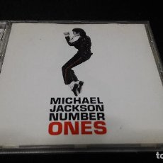CDs de Música: MICHAEL JACKSON - NUMBER ONES BUEN ESTADO. Lote 144155598
