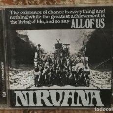 CDs de Música: NIRVANA ALL OF US 16 TEMAS DESCATALOGADISIMO. Lote 144158646