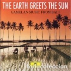 CDs de Música: GONG KEBYAR, SEBATU - THE EARTH GREETS THE SUN: GAMELAN MUSIC FROM BALI. Lote 144178505