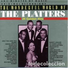 CDs de Música: THE PLATTERS - THE WONDERFUL WORLD OF THE PLATTERS. Lote 198510741