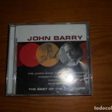 CDs de Música: JOHN BARRY. THE BEST OF THE EMI YEARS. JAMES BOND THEME. EMI, 1999. CD. IMPECABLE (#). Lote 144198802