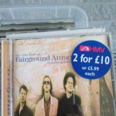 CDs de Música: FAIRGROUND ATTRACTION FEATURING EDDI READER - THE VERY BEST OF FAIRGROUND ATTRACTION. Lote 144178449