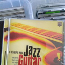 CDs de Música: VARIOUS - IN A SOULFUL MOOD / JAZZ GUITAR. Lote 144178673