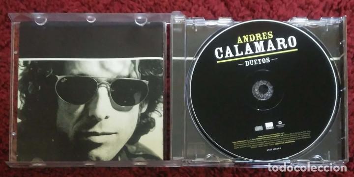 CDs de Música: ANDRES CALAMARO (DUETOS) CD 2001 Argentina (FITO PAEZ, JOAQUIN SABINA, RATONES PARANOICOS...) - Foto 3 - 144242590